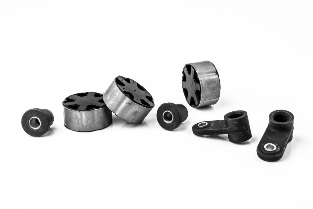 elementy gumowo-metalowe